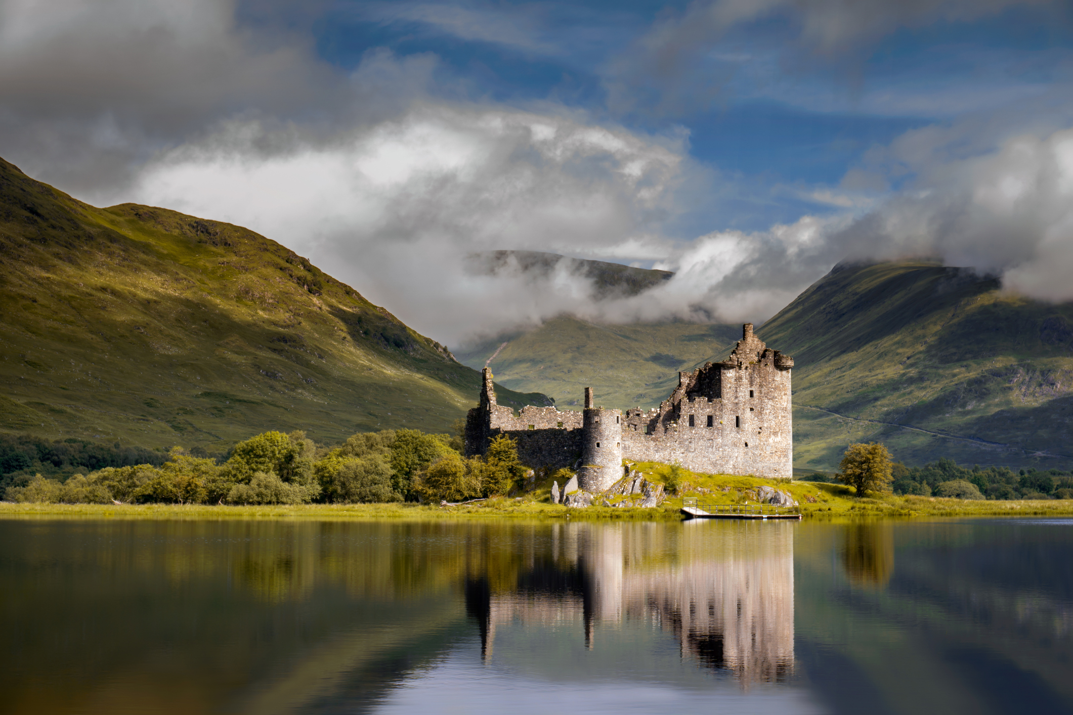 Kilchurn Castle sunrise